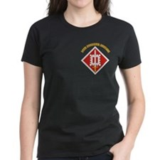 SSI-18th Engineer Brigade with text Tee