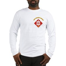 SSI-18th Engineer Brigade with text Long Sleeve T-