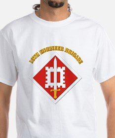 SSI-18th Engineer Brigade with text Shirt