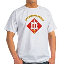 SSI-18th Engineer Brigade with text T-Shirt