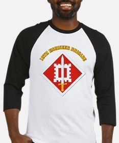 SSI-18th Engineer Brigade with text Baseball Jerse