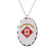 SSI-18th Engineer Brigade with text Necklace