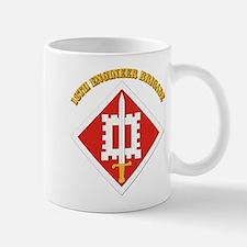 SSI-18th Engineer Brigade with text Mug