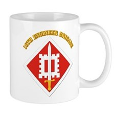 SSI-18th Engineer Brigade with text Mug