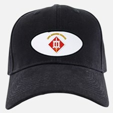 SSI-18th Engineer Brigade with text Baseball Hat
