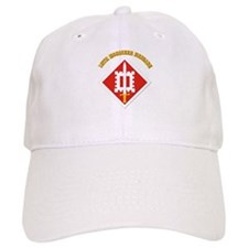 SSI-18th Engineer Brigade with text Baseball Cap
