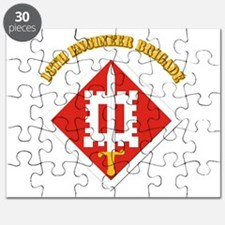 SSI-18th Engineer Brigade with text Puzzle
