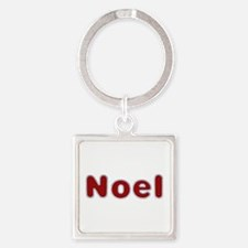 Noel Santa Fur Square Keychain