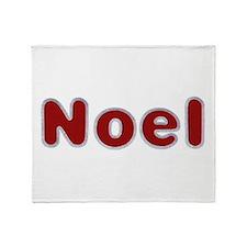 Noel Santa Fur Throw Blanket