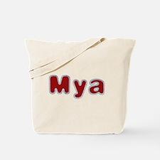 Mya Santa Fur Tote Bag