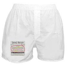 Unreal Estate Boxer Shorts