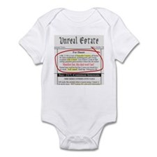 Unreal Estate Infant Bodysuit