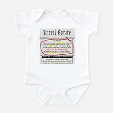 Unreal Estate Infant Bodysuit
