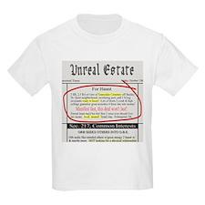 Unreal Estate Kids T-Shirt