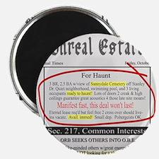 """Unreal Estate 2.25"""" Magnet (100 pack)"""