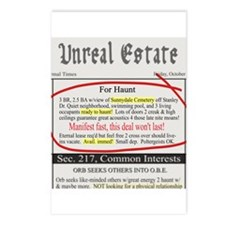 Unreal Estate Postcards (Package of 8)