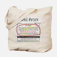 Unreal Estate Tote Bag