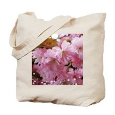 Pretty spring pink cherry blossom. Floral nature p