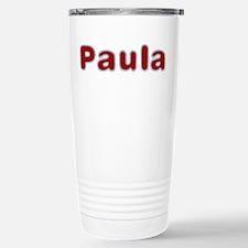 Paula Santa Fur Travel Mug