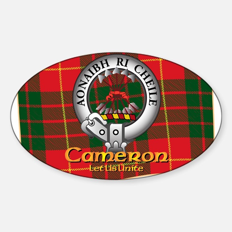 Cameron Clan Decal