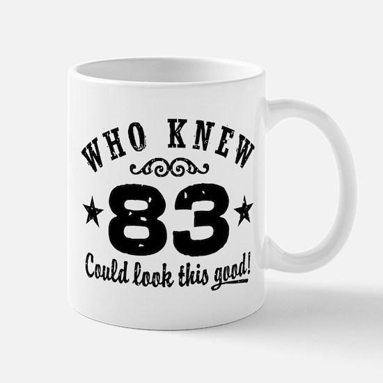 Funny 83rd Birthday Mug