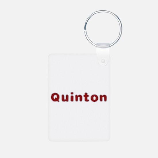 Quinton Santa Fur Aluminum Keychain