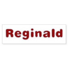 Reginald Santa Fur Bumper Bumper Sticker