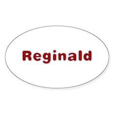 Reginald Santa Fur Oval Decal