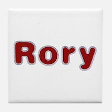 Rory Santa Fur Tile Coaster