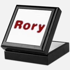Rory Santa Fur Keepsake Box