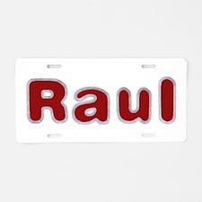 Raul Santa Fur Aluminum License Plate