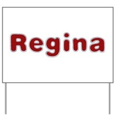 Regina Santa Fur Yard Sign
