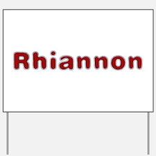 Rhiannon Santa Fur Yard Sign