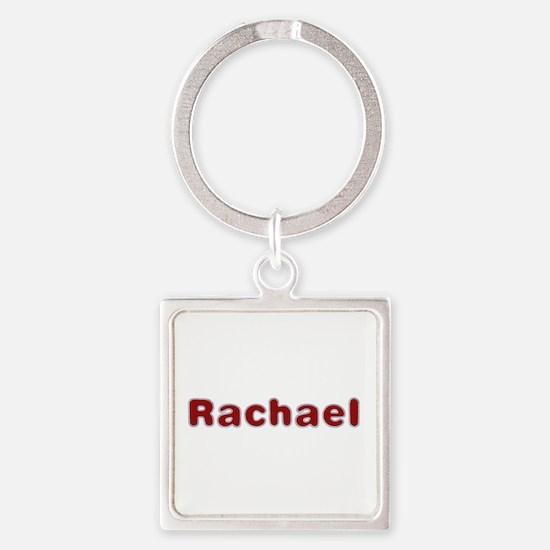 Rachael Santa Fur Square Keychain