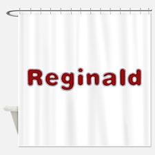Reginald Santa Fur Shower Curtain