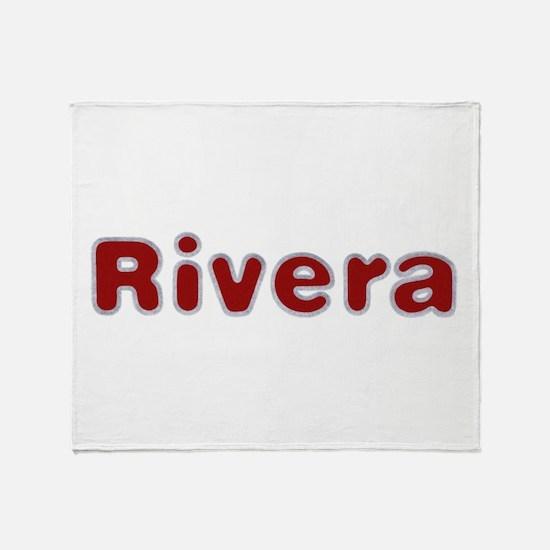Rivera Santa Fur Throw Blanket