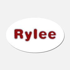 Rylee Santa Fur Wall Decal