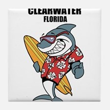 Clearwater, Florida Tile Coaster