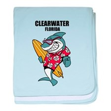 Clearwater, Florida baby blanket