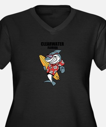 Clearwater, Florida Plus Size T-Shirt