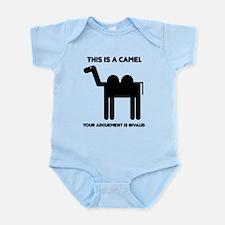 Geometric Camel Body Suit