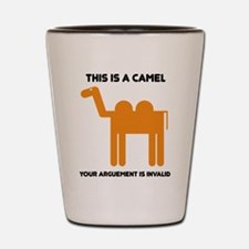 This is a camel Shot Glass
