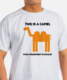 This is a camel T-Shirt