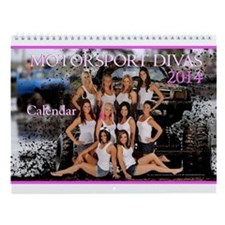 MotorSportDivas ~ 2014 Calendar