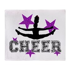 Cheerleader Throw Blanket