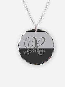 Elegant Custom Monogram Necklace