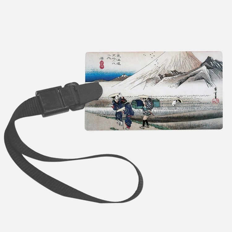 Mount Fuji in the Morning by Hir Luggage Tag