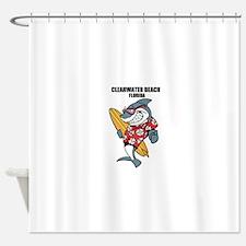 Clearwater Beach, Florida Shower Curtain