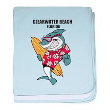 Clearwater Beach, Florida baby blanket