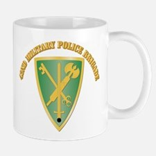 SSI - 42nd Military Police Brigade With Text Mug